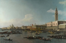 212/canaletto - the basin of san marco on ascension day