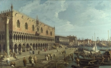 212/canaletto - the doge's palace and the riva degli schiavoni