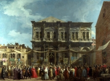 212/canaletto - the feast day of saint roch