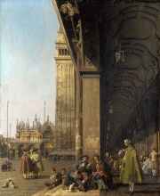 212/canaletto - the piazza san marco