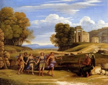 212/claude lorrain - the dance of the seasons
