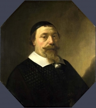 212/cuyp, aelbert - portrait of a bearded man