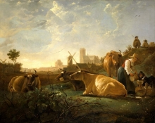 212/cuyp, aelbert - the large dort