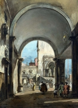 212/guardi, francesco - an architectural caprice