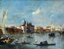 212/guardi, francesco - the giudecca with the zitelle