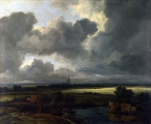 212/ruisdael, jacob isaackszon van - an extensive landscape with ruins