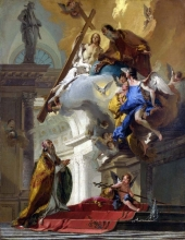 212/tiepolo, giovanni battista - a vision of the trinity