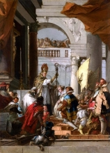 212/tiepolo, giovanni domenico - the marriage of frederick barbarossa