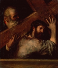 212/tiziano vecellio -  carring of the cross