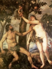 212/tiziano vecellio - the fall of man