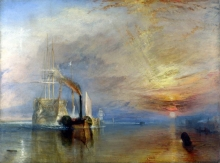 212/turner, joseph mallord william - the fighting temeraire tugged to her last berth to be broken up