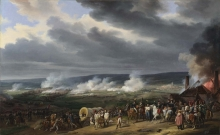 212/vernet, emile-jean-horace - the battle of jemappes