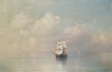 213/, иван константинович 04_02_015_calm seas 1884 59.9 by 93cm
