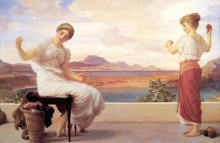 213/frederic leighton_-_winding the skein big