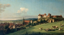 212/bellotto, bernardo - view of pirna from the sonnenstein castle