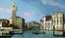 212/canaletto - entrance to the cannaregio