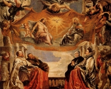 212/rubens, peter paul - the trinity adored by the duke of mantua and his family