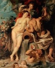 212/rubens, peter paul - the union of earth and water