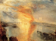 212/turner, joseph mallord william - the burning of the house of lords and commons