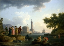 212/vernet, claude-joseph - a sea-shore