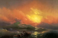 hermitage/aivazovsky, ivan - the ninth wave