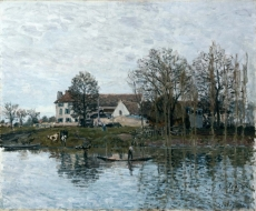 londongallery/alfred sisley - the seine at port-marly